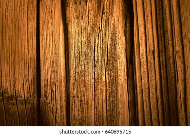 Golden wood texture. background old table
