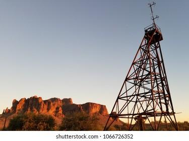 Goldfield in Arizona