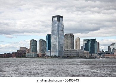 Goldman Sachs Tower, Jersey City. Build in 2004, the tallest building in New Jersey.