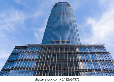 Goldman Sachs Tower, tallest building in New Jersey, Jersey City, USA, January 10, 2013.