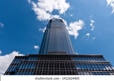 Goldman Sachs Tower, tallest building in New Jersey, Jersey City, USA, August 12, 2011.