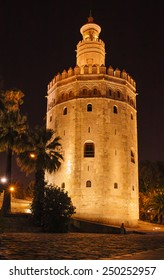 Gold's tower in Seville