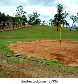 Golf, Australian outback style