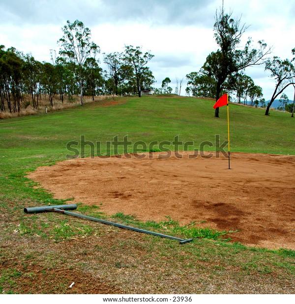 Golf, Australian outback style