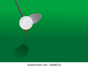 Golf background with space for your text