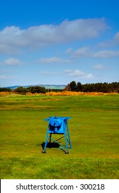 Golf ball cleaner, carnoustie golf course