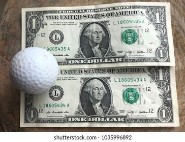 Golf ball on usd