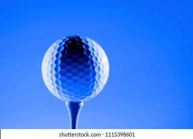 Golf Ball for sports and recreation to be healthy athletics