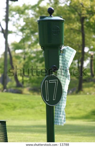 golf ball station