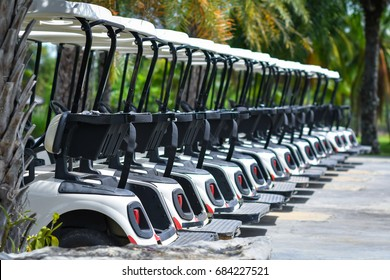 Golf carts .