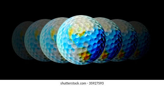 Golf - A central topic for the World