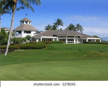 golf clubhouse hawaii