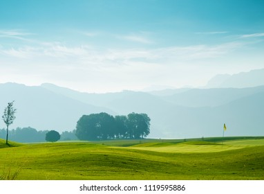 Golf course in Attersee, Austria