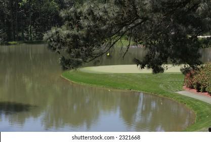 golf course in augusta, georgia