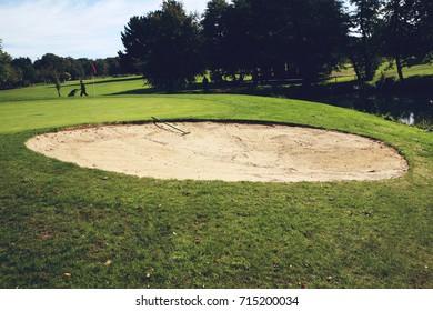 golf course bunker