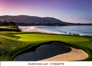 golf course  in California, usa