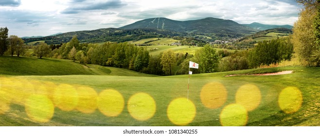 Golf course in the Giant Mountains
