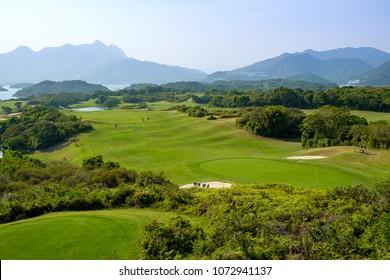 Golf course in Hong Kong
