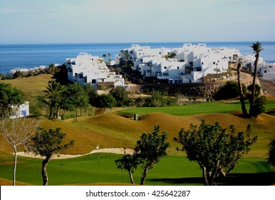 Golf course and luxury villas