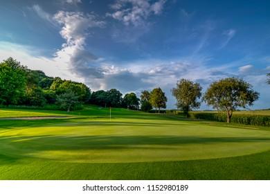 Golf Course Scenes