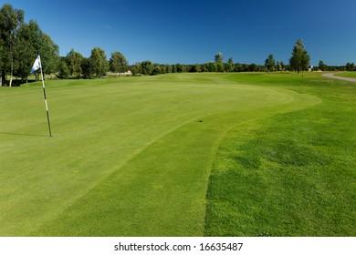 Golf course in Skogaby, Sweden