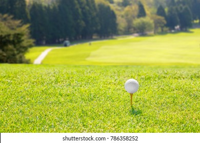 Golf course tea ground