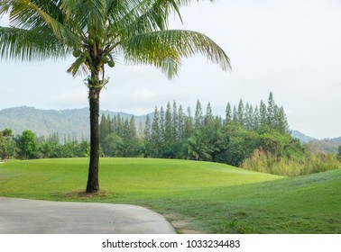 golf course in Thailand.
