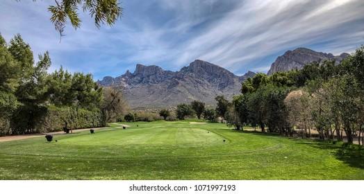 Golf Course Tucson Arizona - Shutterstock ID 1071997193