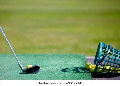 Golf, driving range
