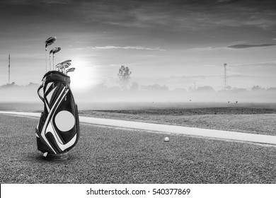 Black And White Golf Course Stock Photos Images Photography Shutterstock