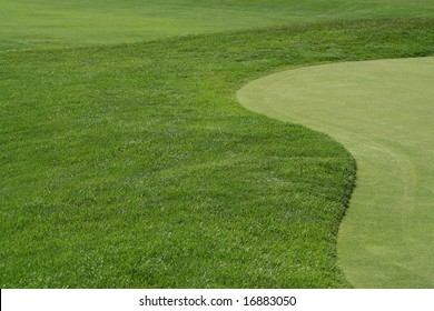 Golf Fairway and Green