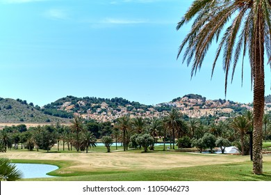 Golf field in Spain