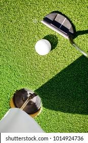 Golf , sport , green