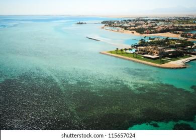 Golf von Sues El Gouna - bird's-eye view