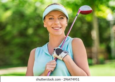 Golf, Women, Female.