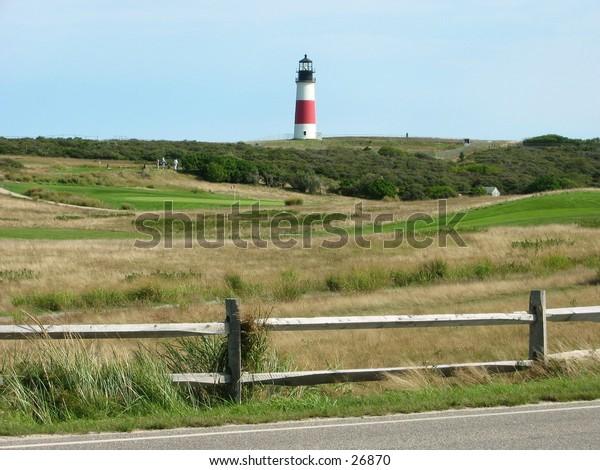 golfcourse lighthouse