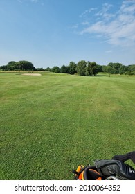 Golfcourse on a lovely sommerday