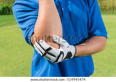 Golfer elbow pain during