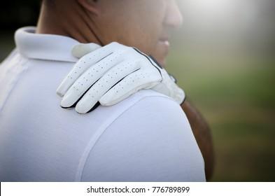 Golfers were back injury