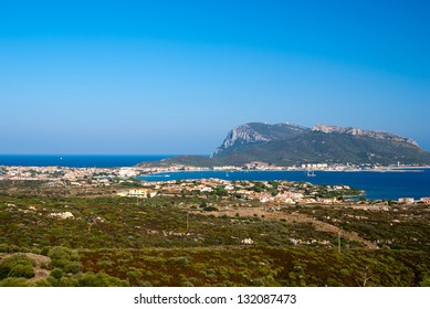 Golfo Aranci at Sardinia, Italy
