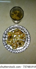 Golgappe or Panipuri or Water Balls are Indian famous dish