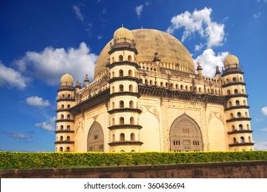 Golgumbaz, a Mughal mausoleum in Bijapur