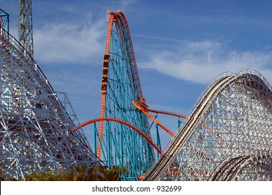 Goliath Roller Coaster Drop