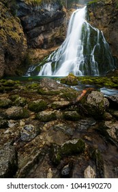 Golling Waterfall near Salzburg in Austria