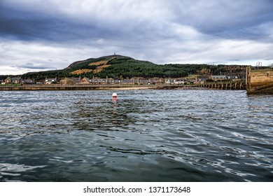 Golspie, Golspie harbour and Ben Bhraggie