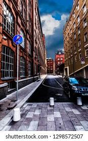 Golutvinsky lane in Moscow