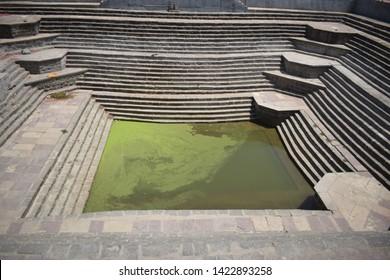 Gomati Kund or Gomti pond at Sandipani Ashram in Ujjain Madhya Pradesh India