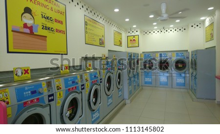 Gombak Malaysia June 15 2018 Customers Stock Photo (Edit Now