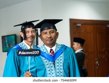 GOMBAK, MALAYSIA - NOVEMBER 13, 2017 : 33RD IIUM Convocation ceremony - Graduation day for IIUM Student, subject contain motion blur.