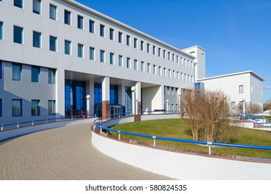 GOMEL, BELARUS - APRIL 3, 2016: Republican Scientific and Practical Center of Radiation Medicine and Human Ecology, Gomel, Belarus